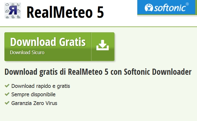 Download Sicuro di RealMeteo da Softonic
